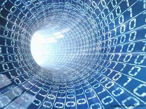 Darstellung eines Tunnels mittels Daten