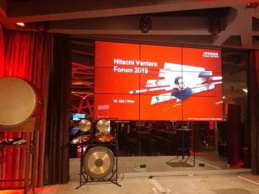solvistas beim Hitachi Vantara Forum 2019 in Wien