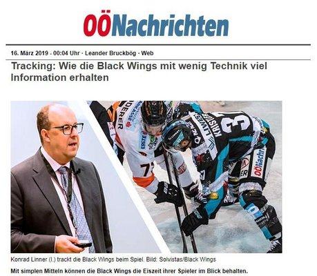 Time-on-Ice in den oberösterreichischen Nachrichten